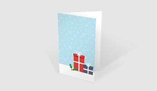 Weihnachtskarten Bedrucken.Geschäftliche Weihnachtskarten Mit Logo Drucken 2019