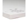 Block, mit stabiler Maschinengraupappe als Unterlage