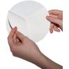 Outdoor-Aufkleber auf weißer PVC-Folie mit geschlitzter Rückseite, erleichtern das Abziehen der Trägerfläche