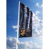 Flagge für Fahnenmasten ohne Ausleger