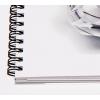 Vergrößerung der Spirale unseres Papiermusterbuches