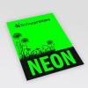 Neonpapier grün (Abb. ähnlich)