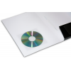 optional: transparente CD-Klebetasche