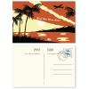 Beispiel: Vorder- und Rückseite (individuell; Briefmarken sind im Lieferumfang nicht enthalten)