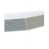 Material: KAPA-Plast; trotz Materialstärke von 10 mm zeichnet sich diese Platte durch ein geringes Eigenwicht aus.