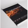 Textilposter aus 260 g/m² Polyestergewebe (Abb. ähnlich)