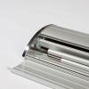 Rollup-Banner und Zeltstange können bequem in der Aluminiumkassette verstaut werden (Abb. ähnlich)
