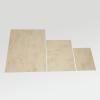 Der braune Marmorkarton in den drei erhältlichen Formaten
