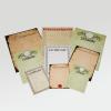 Drei Formate, viele verschiedene Papiervarianten und eine verblüffende Auswahl an Vorlagen…