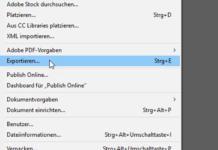 PDF-Vorgaben InDesign Tutorial