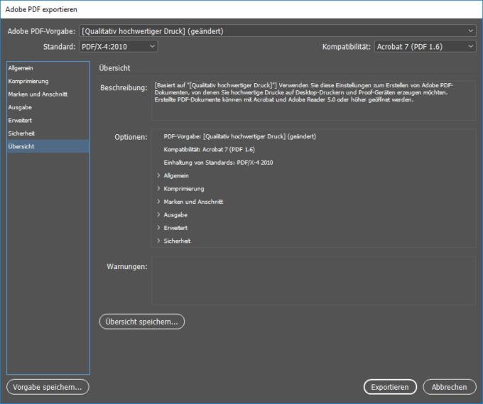 PDF-Export-InDesign-diedruckerei.de