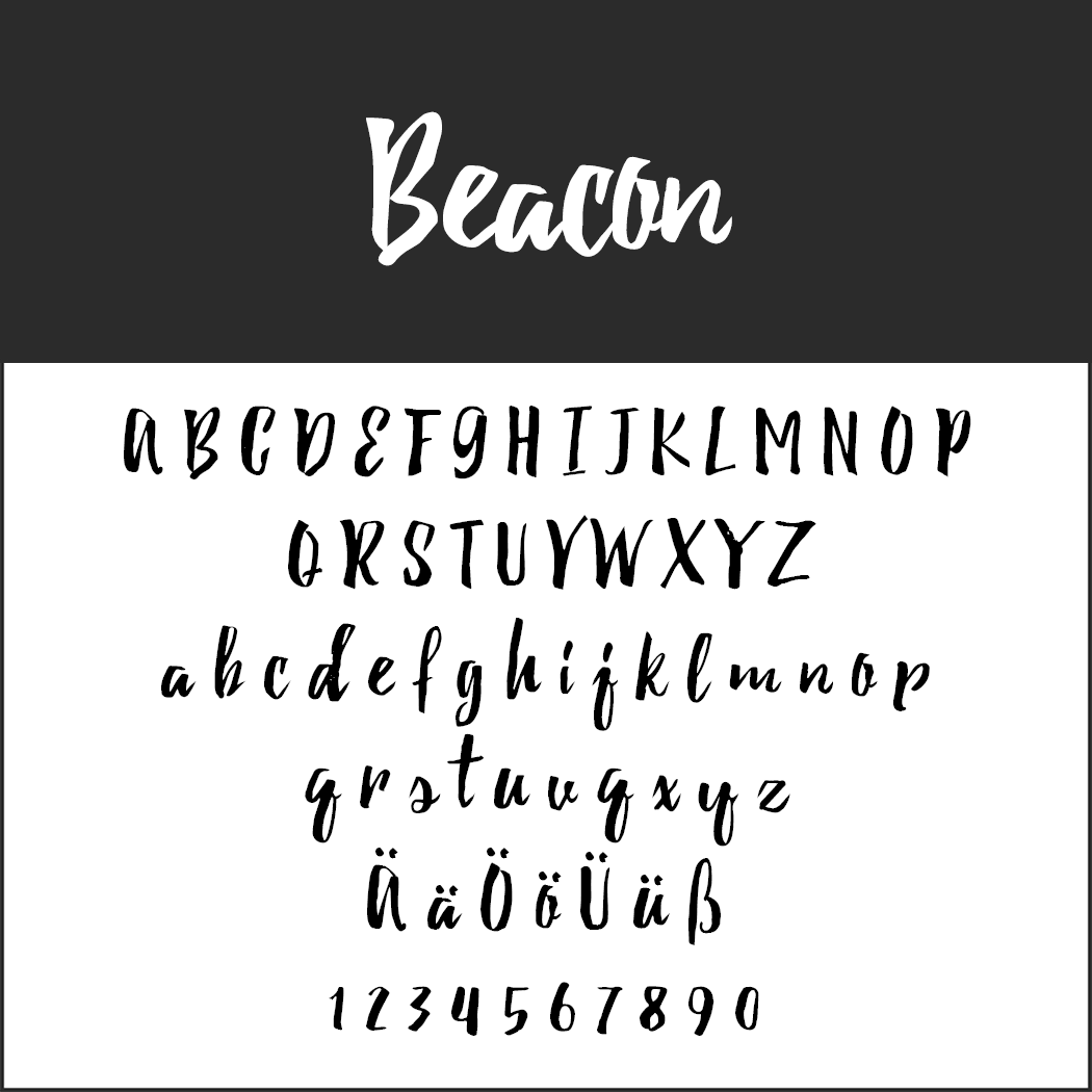Brush Fonts - Free Font Beacon