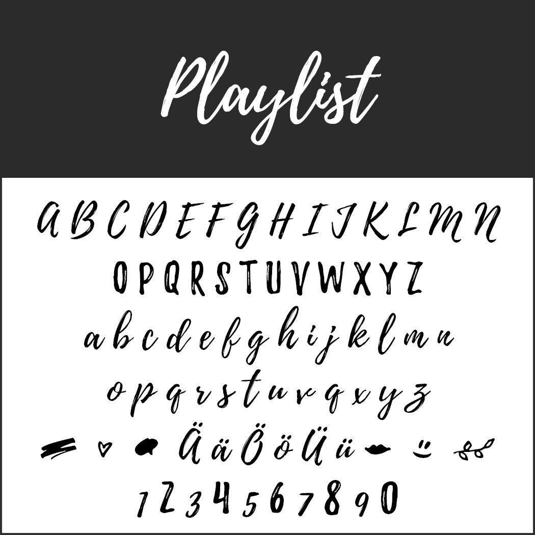 Brush Fonts - Free Font Playlist