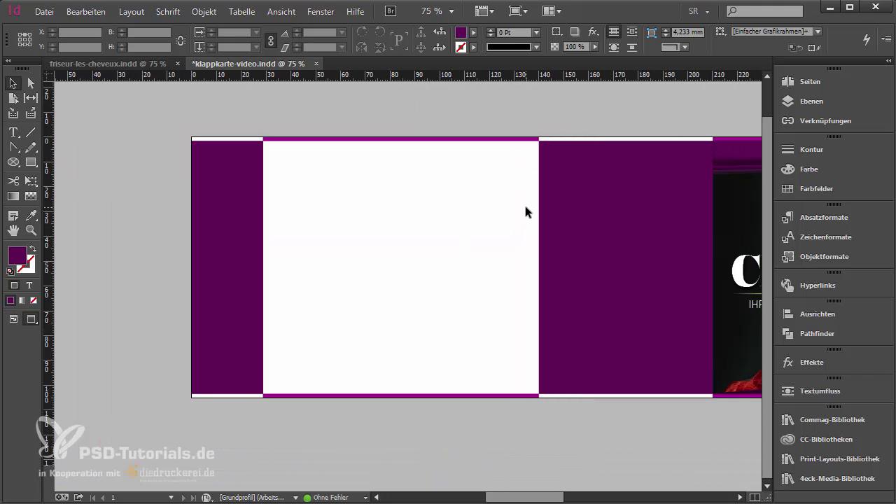 InDesign-Tutorial: Rückseite gestalten - Teil 2