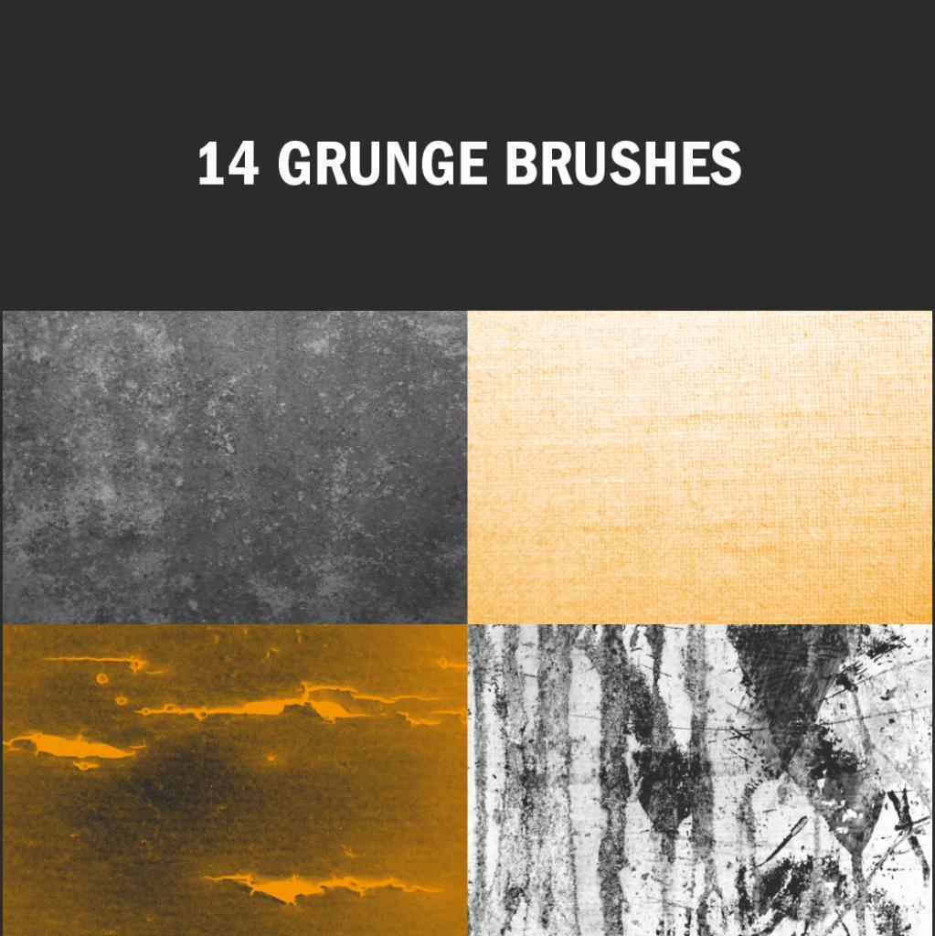 Grunge Brushes dürfen in keiner Sammlung fehlen!