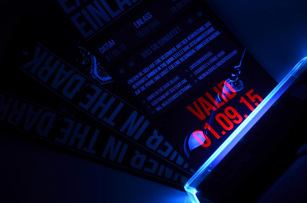 Motiv Schwarzlicht