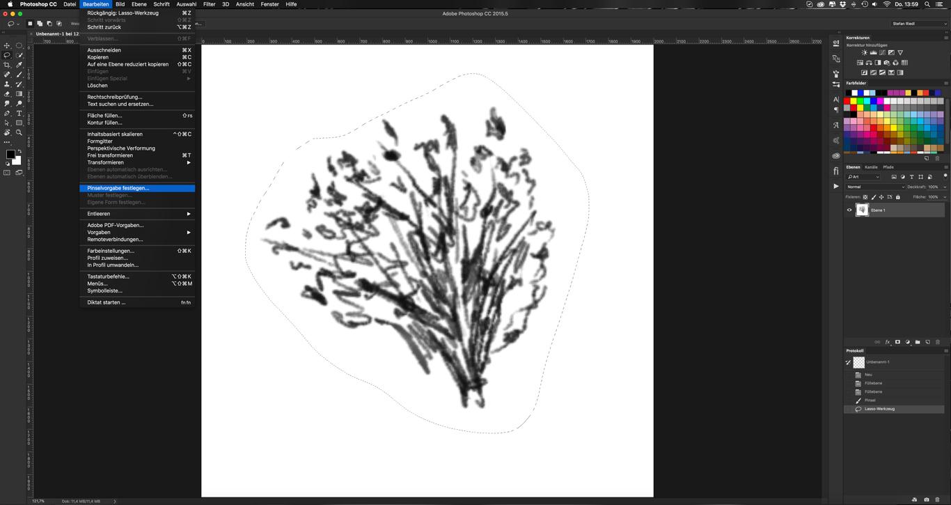 Photoshop-Tutorial: Photoshop Brushes erstellen