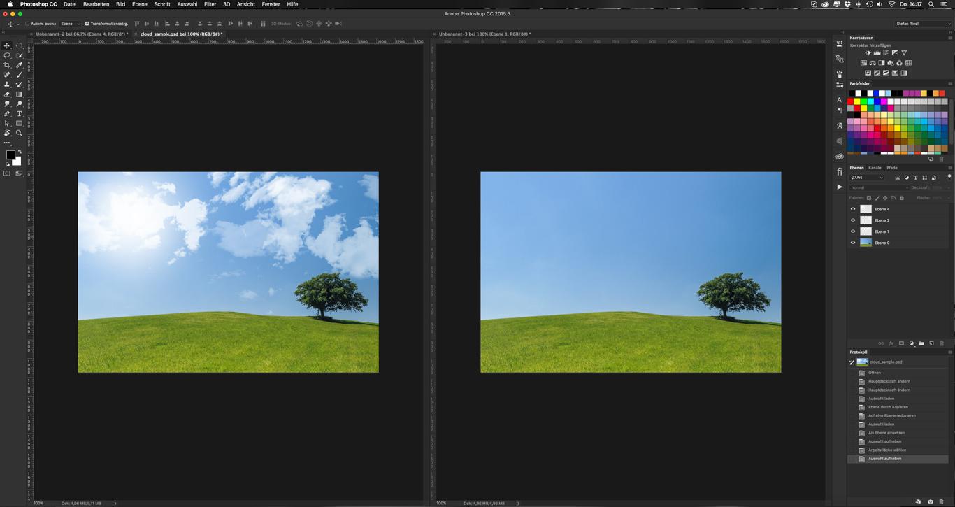 Photoshop-Tutorial: Cloud Brush