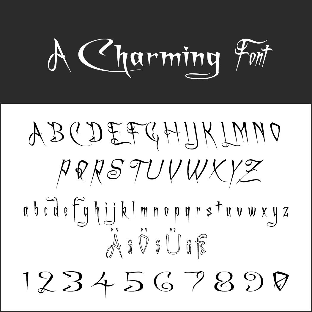 Halloween-Schrift: A Charming Font