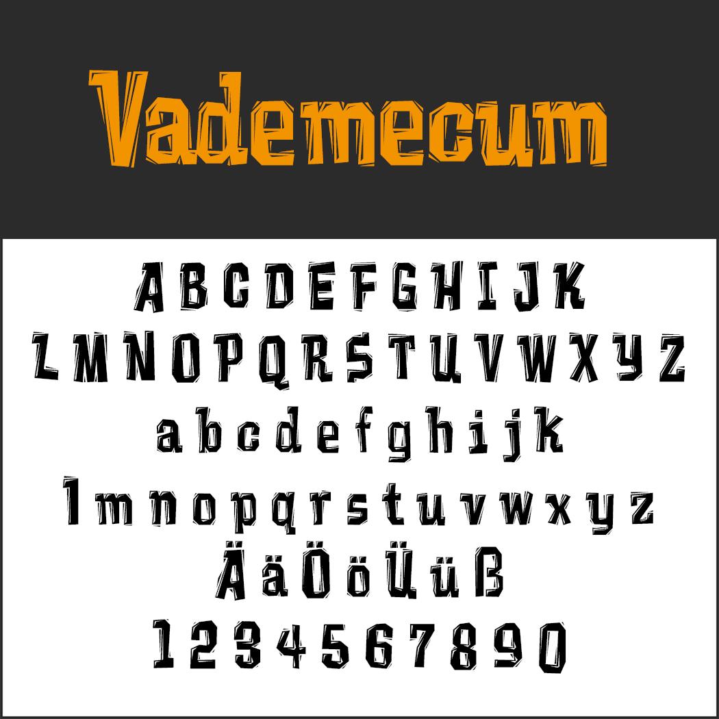 Halloween-Schrift: Vademecum