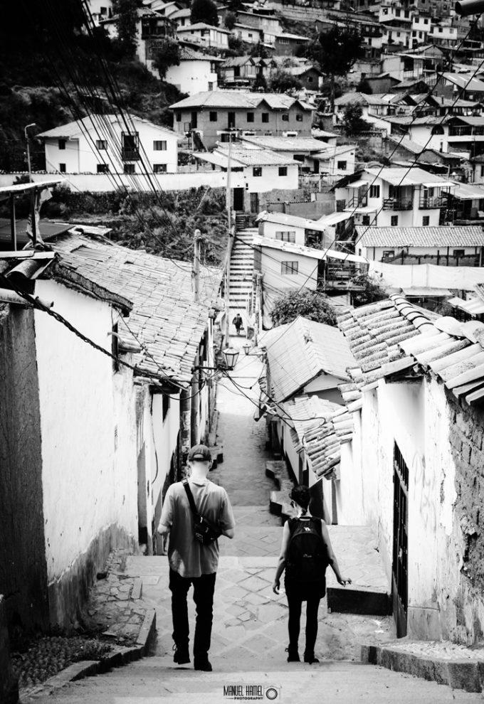 Die Stadt Cusco in Peru hat Manuel Hamel ebenfalls fotografisch eingefangen.