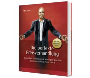 """Neues Buch von Tim Taxis mit dem Titel """"Die perfekte Preisverhandlung"""""""
