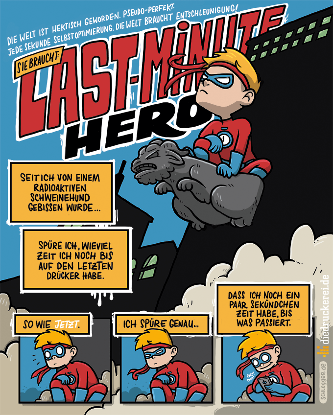 "Comic Jam 2016: Last-Minute-Hero - Folge 1 von Johanna ""Schlogger"" Baumann"