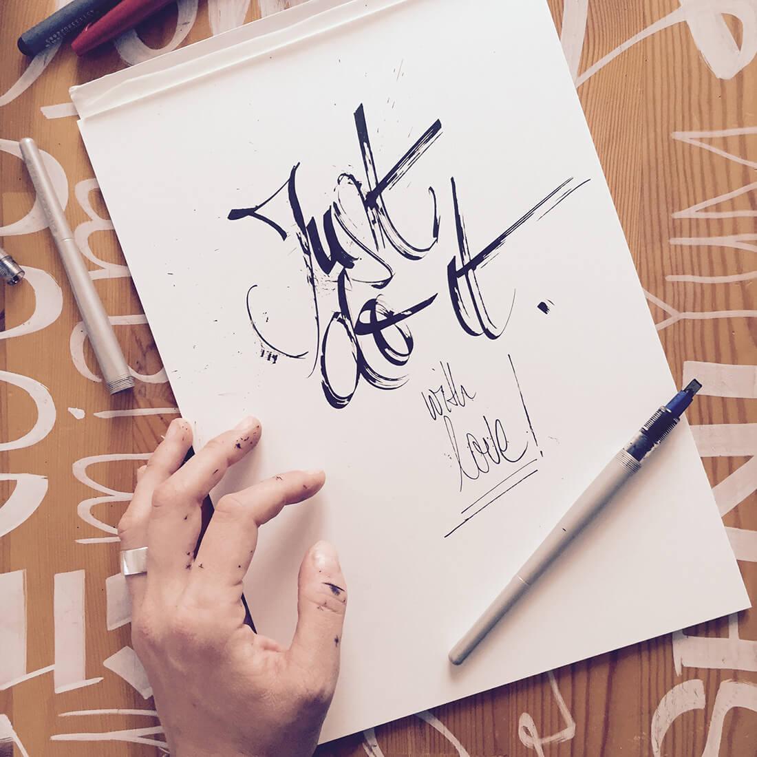 Hannah Rabenstein - Handlettering