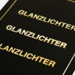 InDesign-Tutorial: Gold CMYK - glänzendes Bilderdruckpapier