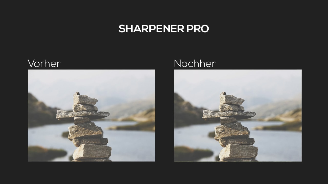 Photoshop-Tutorial: Google Nik Collection - Sharpener Pro