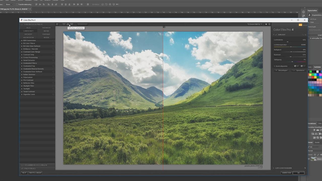 Photoshop-Tutorial: Google Nik Collection - Color Efex Pro