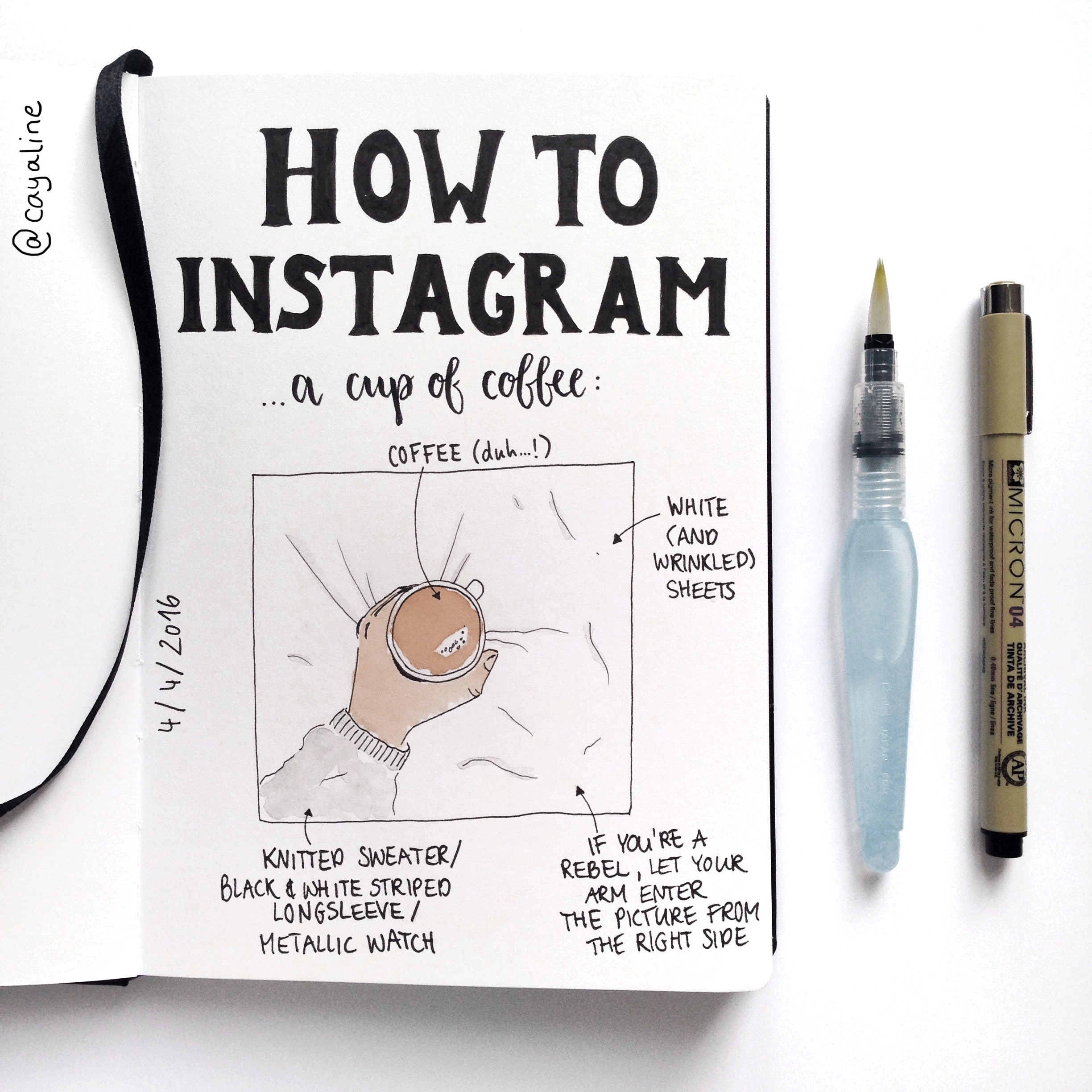 How to Instagram a cup of coffee | Carolin Hohberg