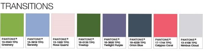 Greenery Kombinationsmöglichkeiten | Color of the Year | © Pantone Color Institute