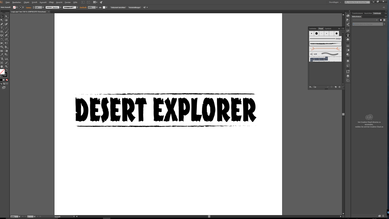 Tutorial: Photoshop, Illustrator oder InDesign - Logo-Design in Illustrator