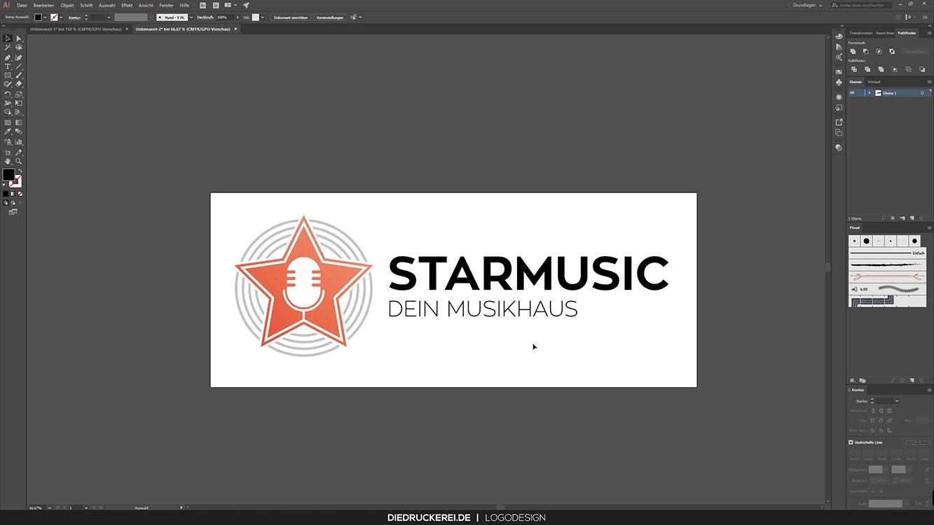 Finales Logo Bildmarke Wortmarke