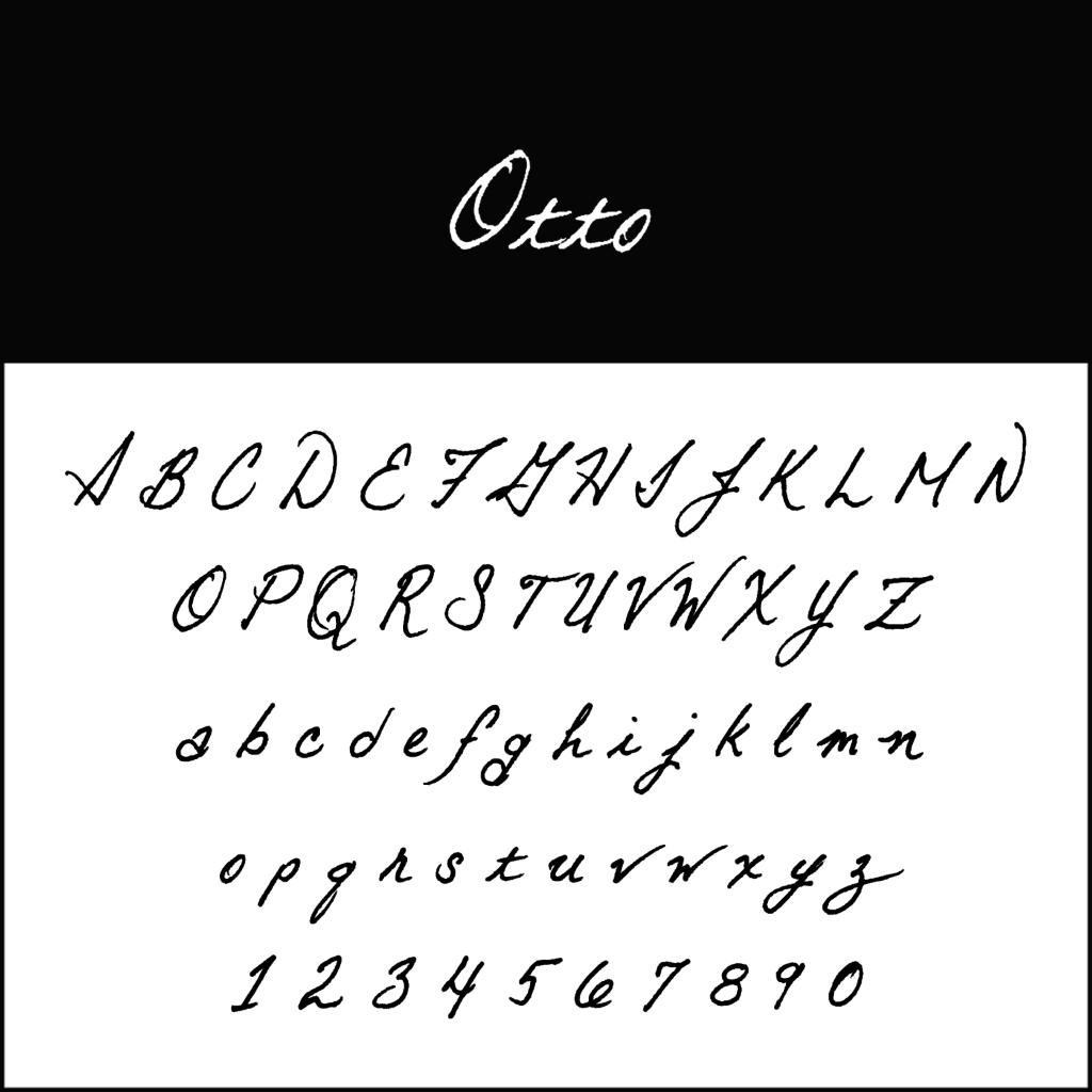 Schnoerkelschrift-Otto-diedruckereide