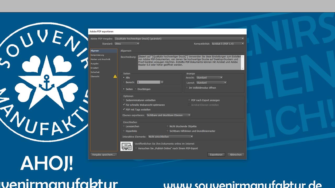 Banner-erstellen-InDesign-Tutorial: Dokumentengröße richtig anlegen
