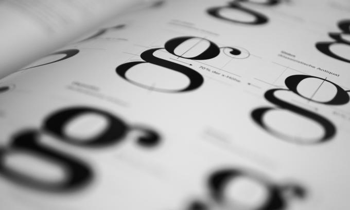 Schriftwirkung-Lesbarkeit-diedruckerei.de