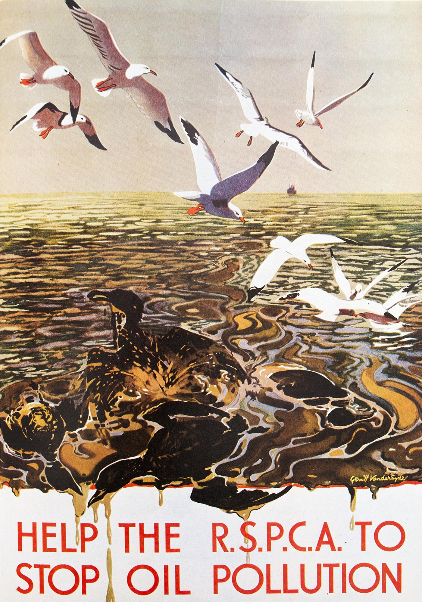 Geschichte-des-Plakats-Ölverschmutzung
