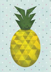 notizbuch-designvorlage-ananas-diedruckerei.de | diedruckerei.de