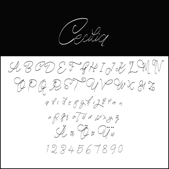 Zeit Für Schönschrift Kostenlose Handwriting Fonts Zum Download