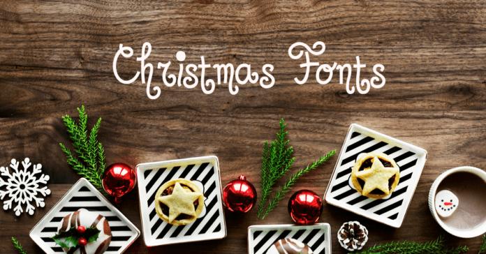 Christmas Fonts - diedruckerei.de