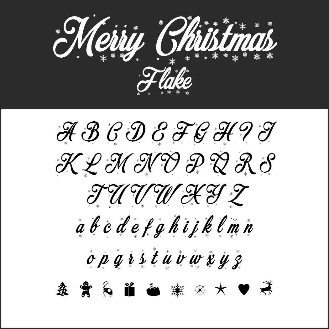 Vielseitige Christmas Fonts zum kostenlosen Download