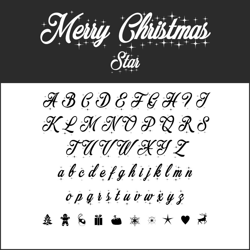 Christmas Fonts zum kostenlosen Download
