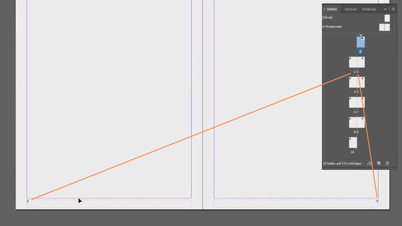 InDesign: Seitenzahlen einfügen und formatieren – Basics Tutorial