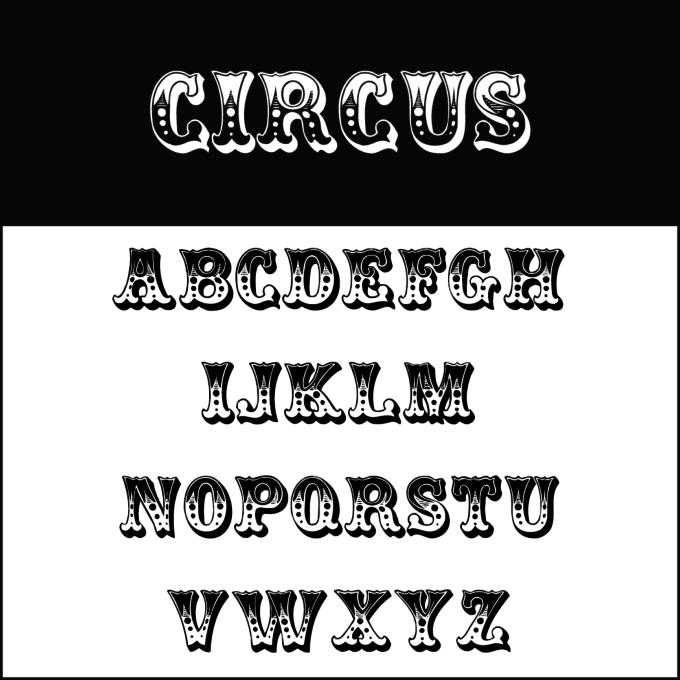 Karneval Fonts - Fasching Fonts - diedruckerei.de