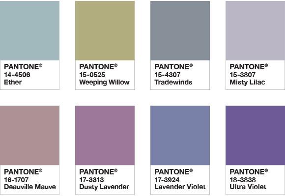 Neue Pantone-Farbe des Jahres 2018: Ultra Violet