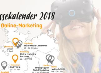 Beitragsbild Social Media Messekalender 2018 Online-Marketing