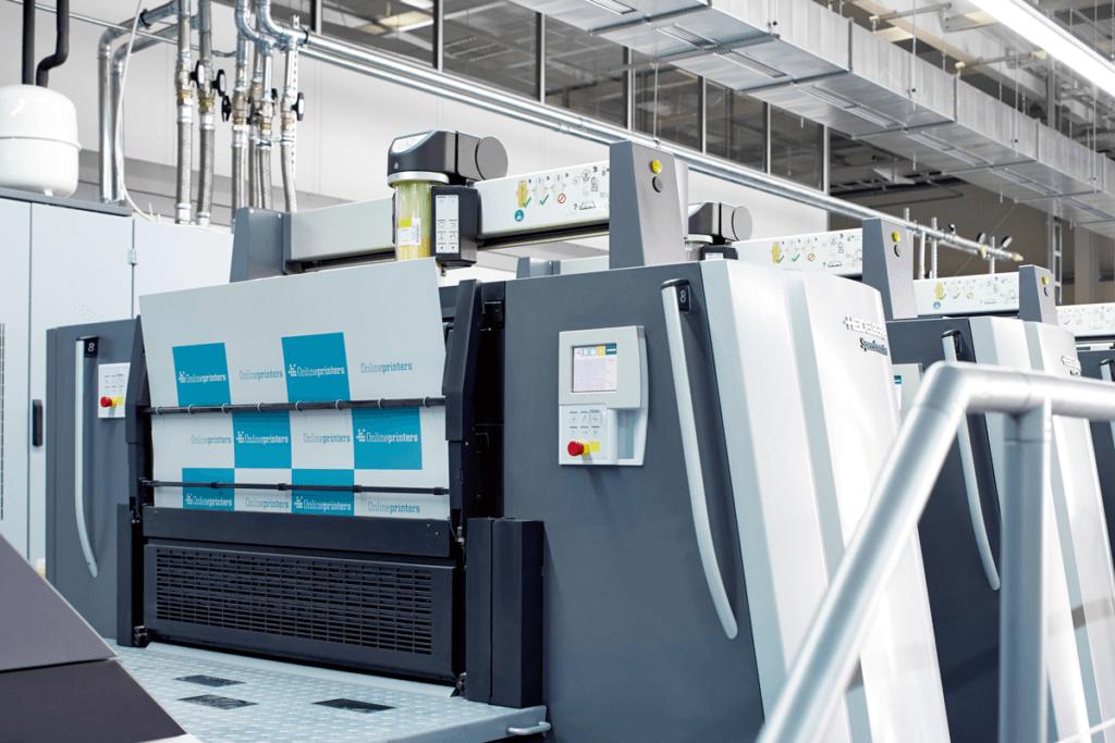 Offsetdruckmaschine Heidelberg Speedmaster