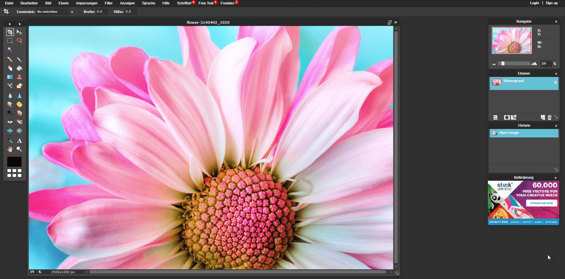 Bilder Online Zuschneiden Kostenlose Bildbearbeitungsprogramme